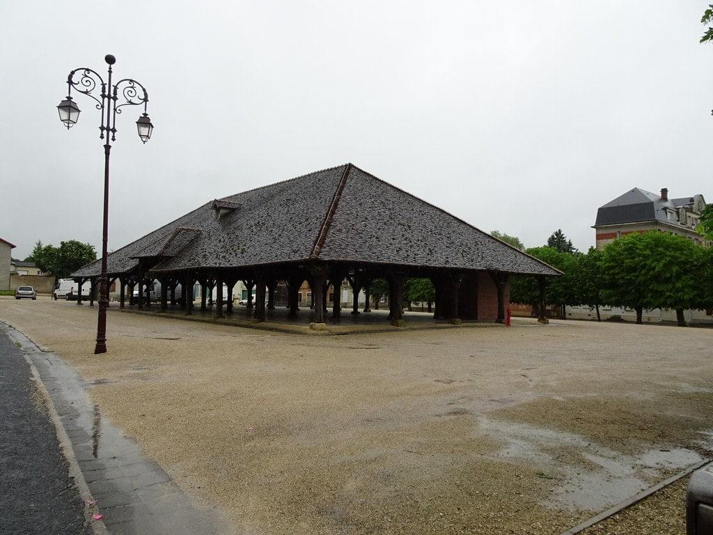 Halle à Brienne-le-Château