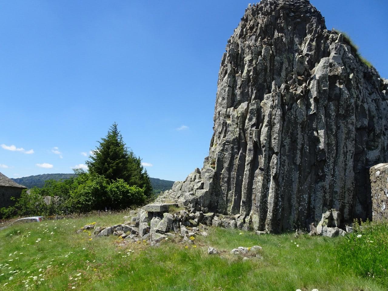 Le dyke volcanique de Fay-sur-Lignon