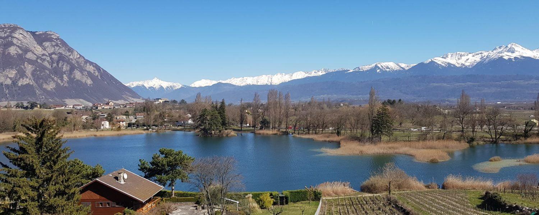 Lac Saint-André Les Marches Savoie La Savoyarde Bauges Grand-Arc