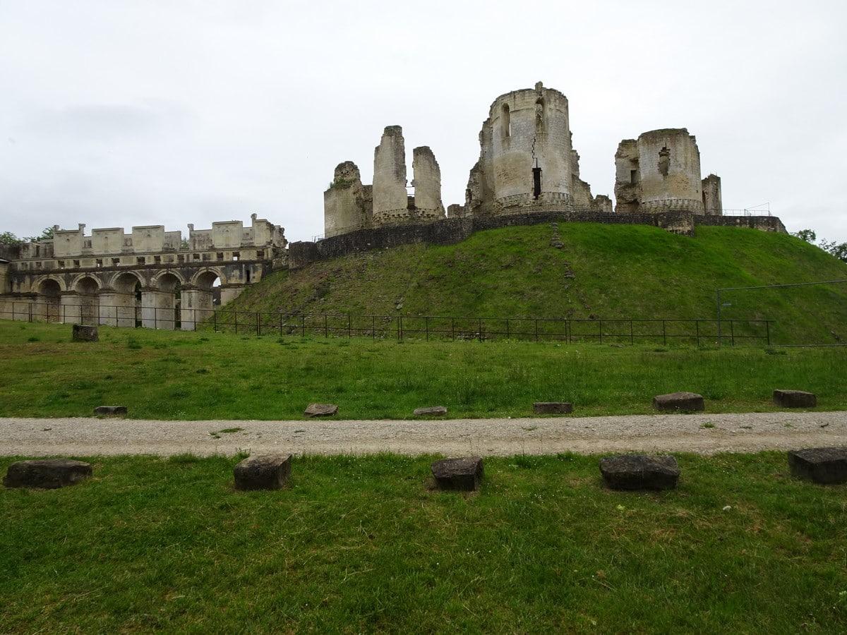 ruines du château de Fère-en-tardenois
