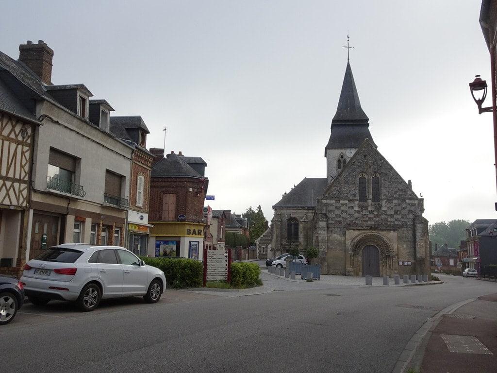 L'église de Serquigny