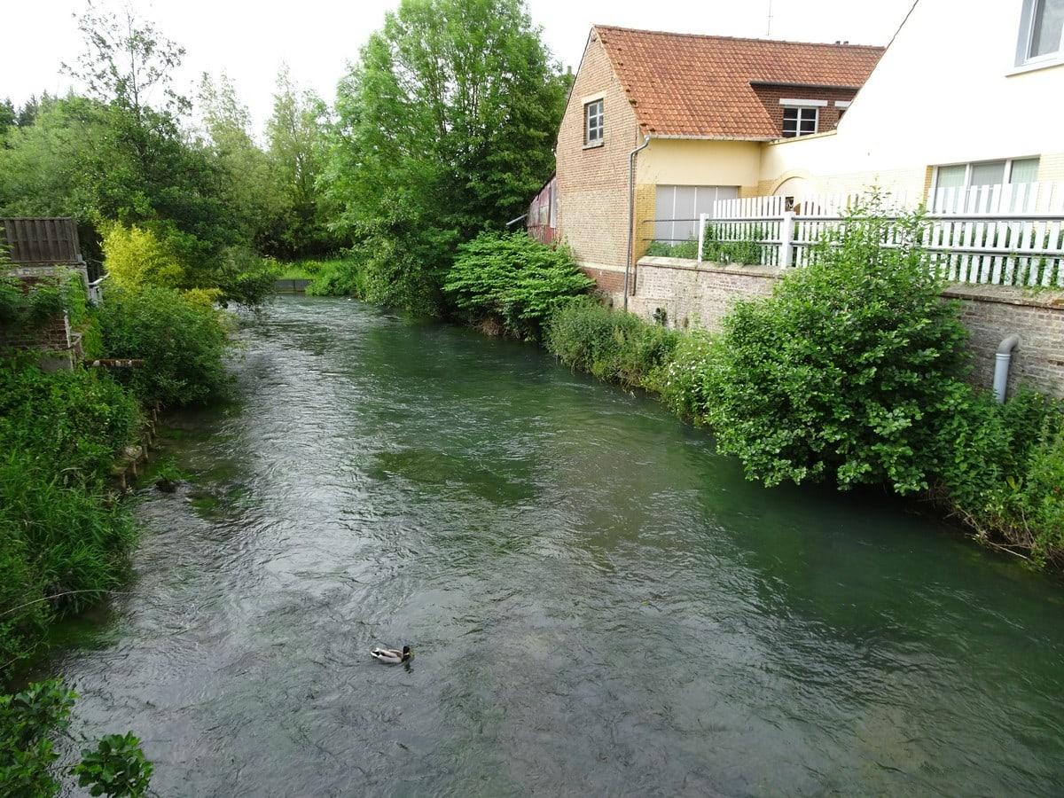L'Authie, Auxi-le-Château