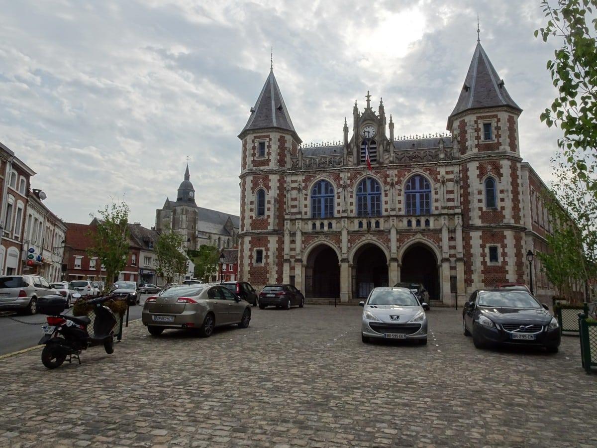 Hôtel de ville Auxi-le-Château