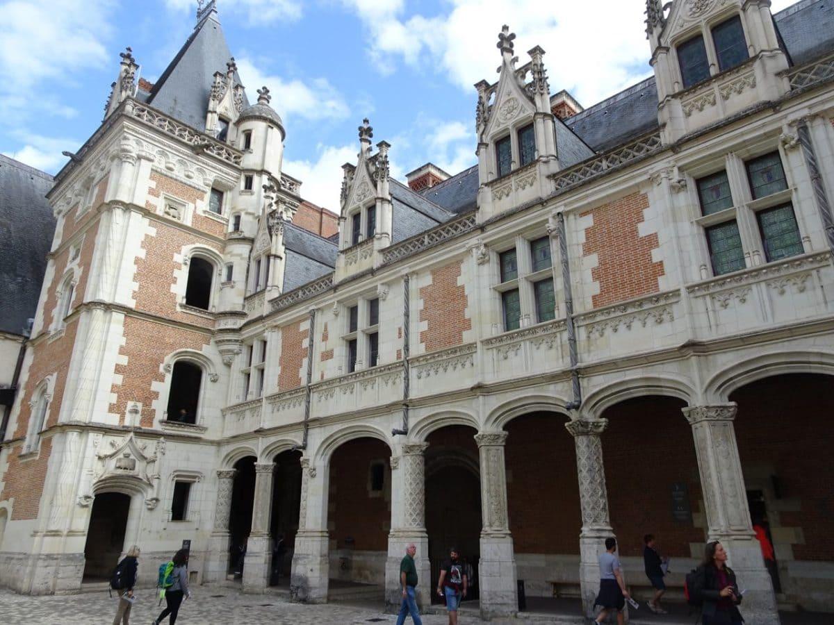 Aile Louis XII château de Blois