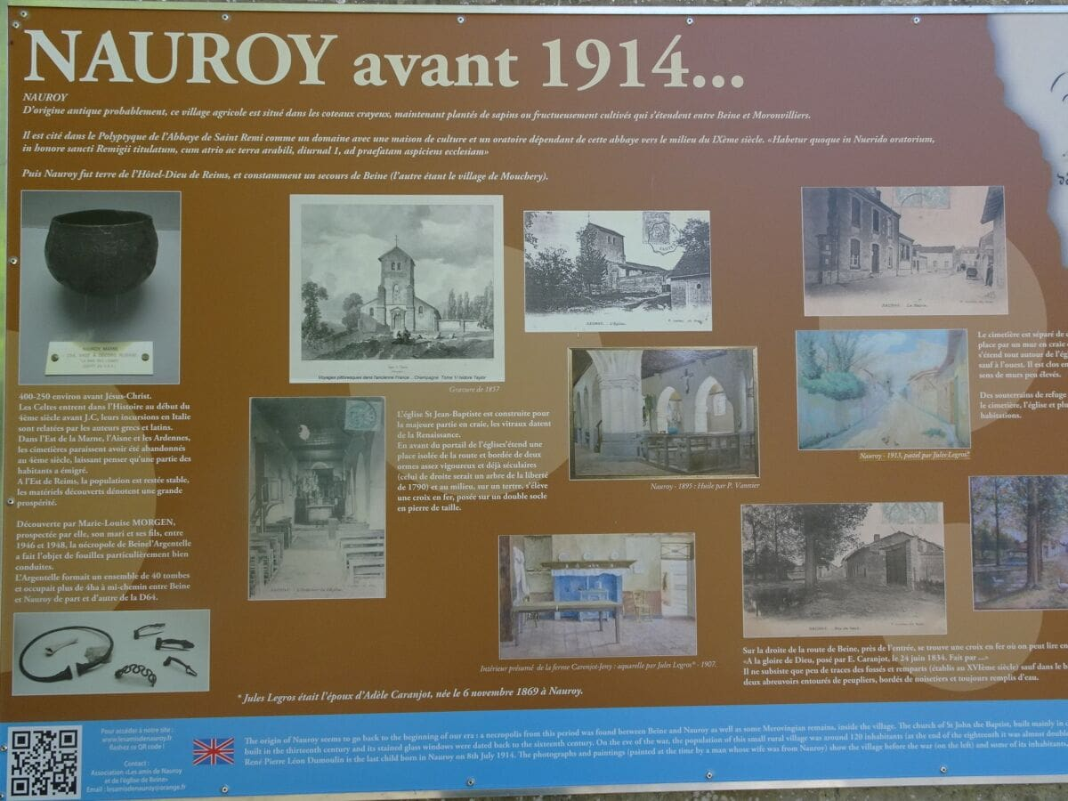 Nauroy avant 1914
