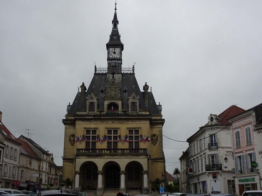 L'hôtel de Ville de la Ferté-sous-Jouarre